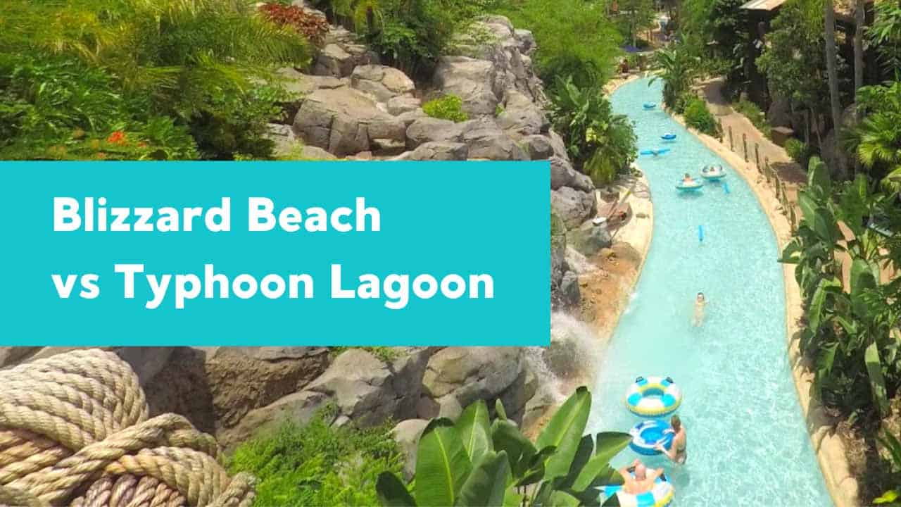 lazy river at Typhoon Lagoon.