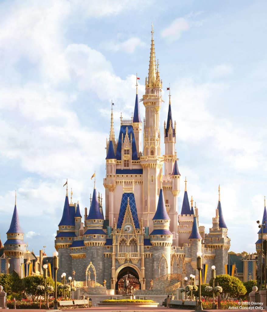 ARTIST CONCEPT ONLY: Cinderella Castle at Disney's Magic Kingdom will be receiving a royal makeover!