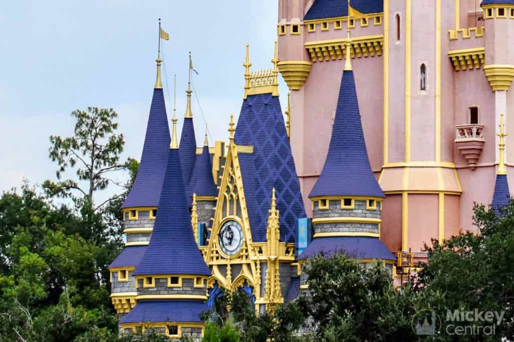 Cinderella Castle Royal Makeover Closeup.