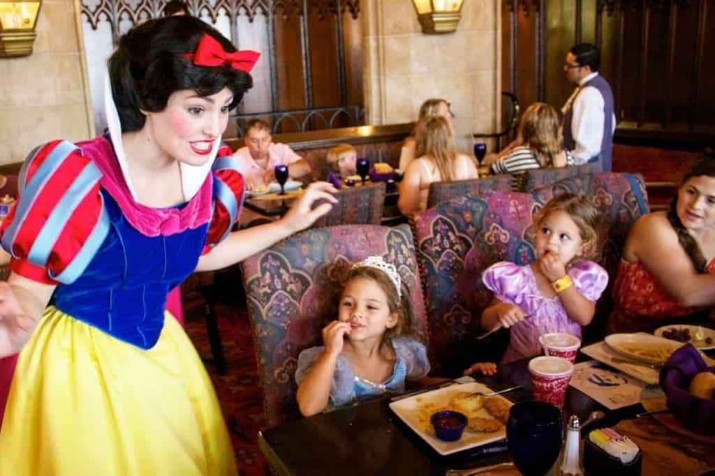 Cinderella's Royal Table in Magic Kingdom.