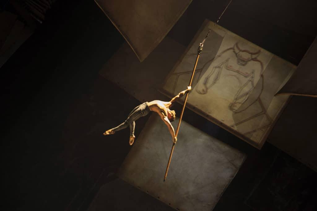 Cirque du Soleil's Drawn to Life at Disney Springs