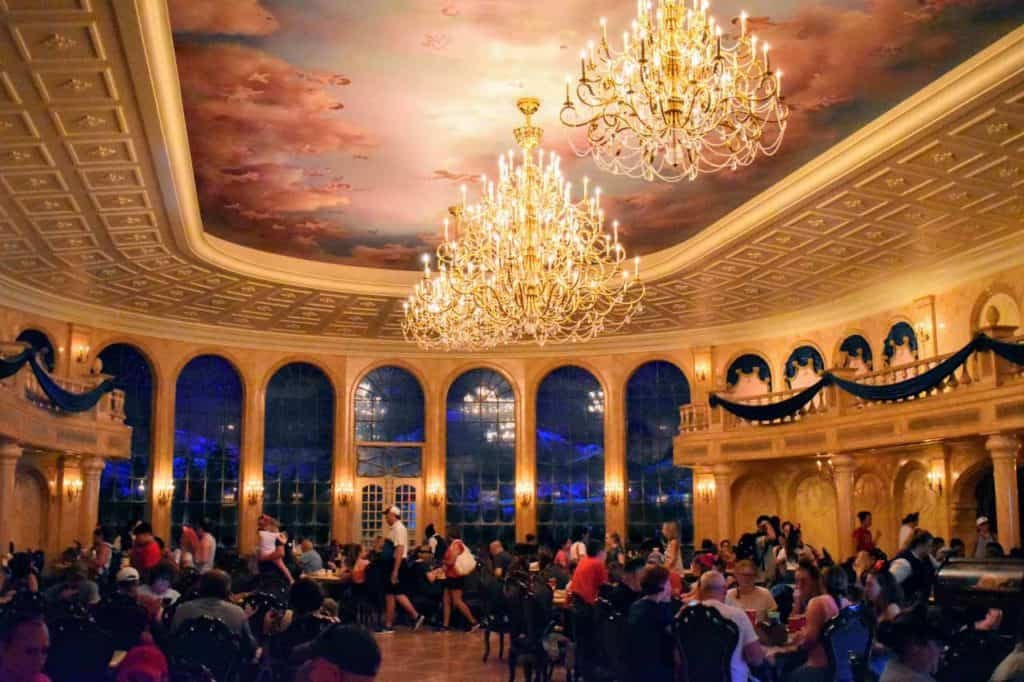 Dining Room at Be Our Guest Restaurant.