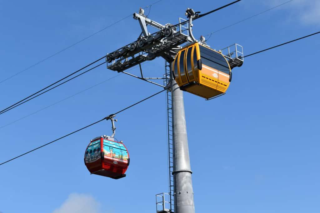 Disney Skyliner Gondolas.