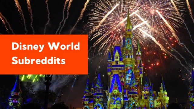 12 Disney World Subreddits to Follow