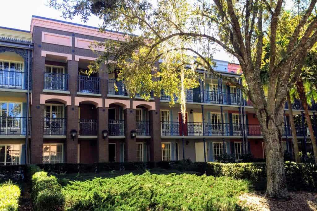 Disney's Port Orleans Resort - French Quarter.