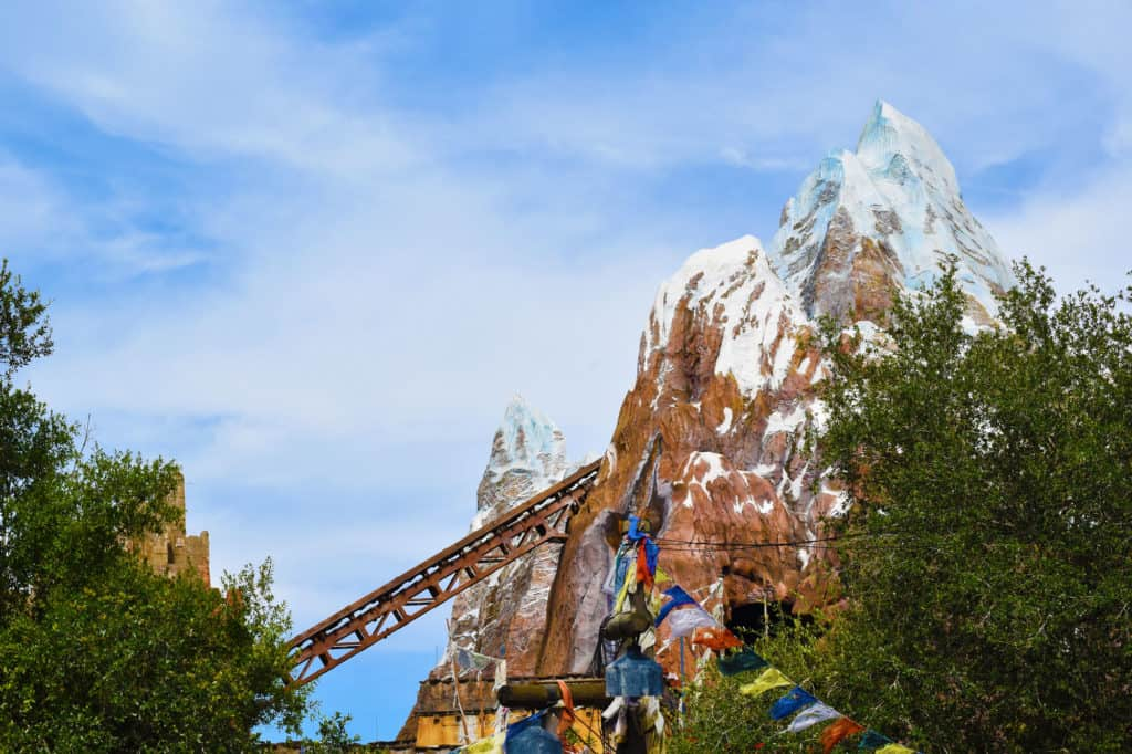 Expedition Everest Roller Coaster at Disney's Animal Kingdom