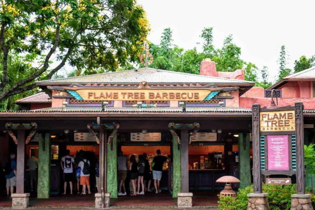 Flame Tree Barbecue at Disney's Animal Kingdom.