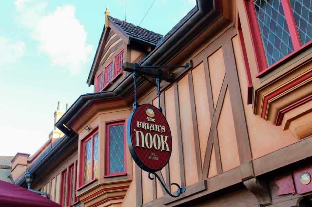 Friar's Nook in Magic Kingdom.