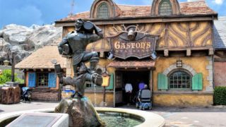 Meet Gaston near His Tavern