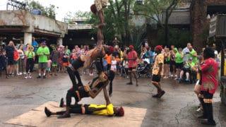 Harambe Village Acrobats