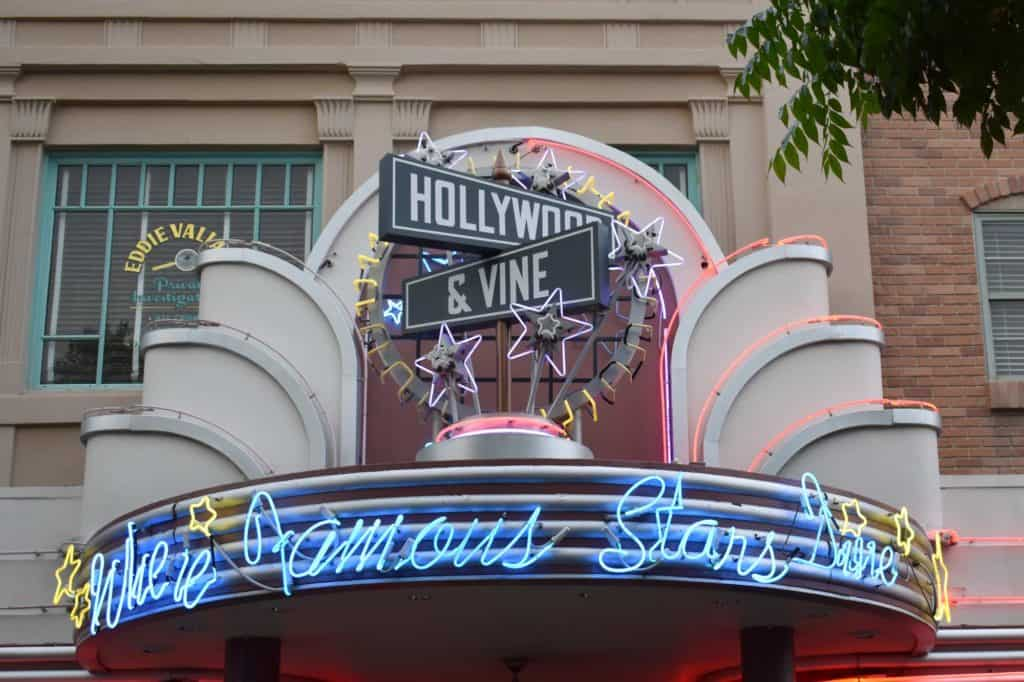 Hollywood & Vine Entrance