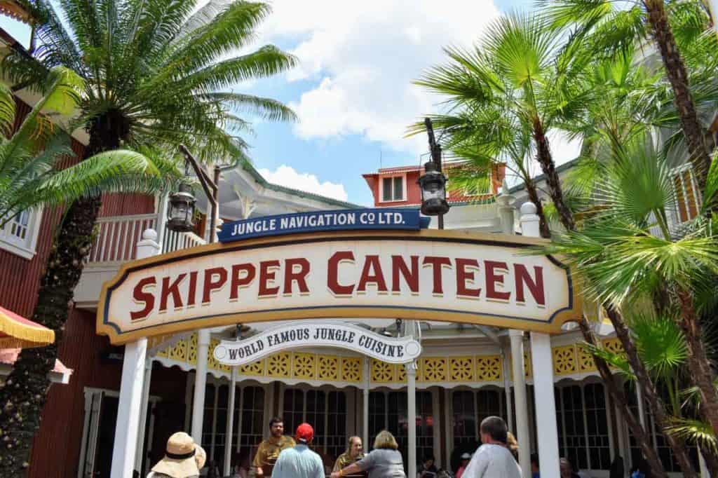 Jungle Navigation Co. Ltd. Skipper Canteen Restaurant Entrance Sign.