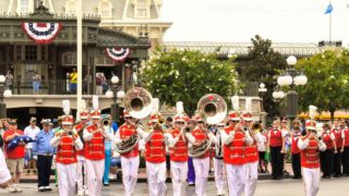 Main Street Philharmonic at Main Street, U.S.A.