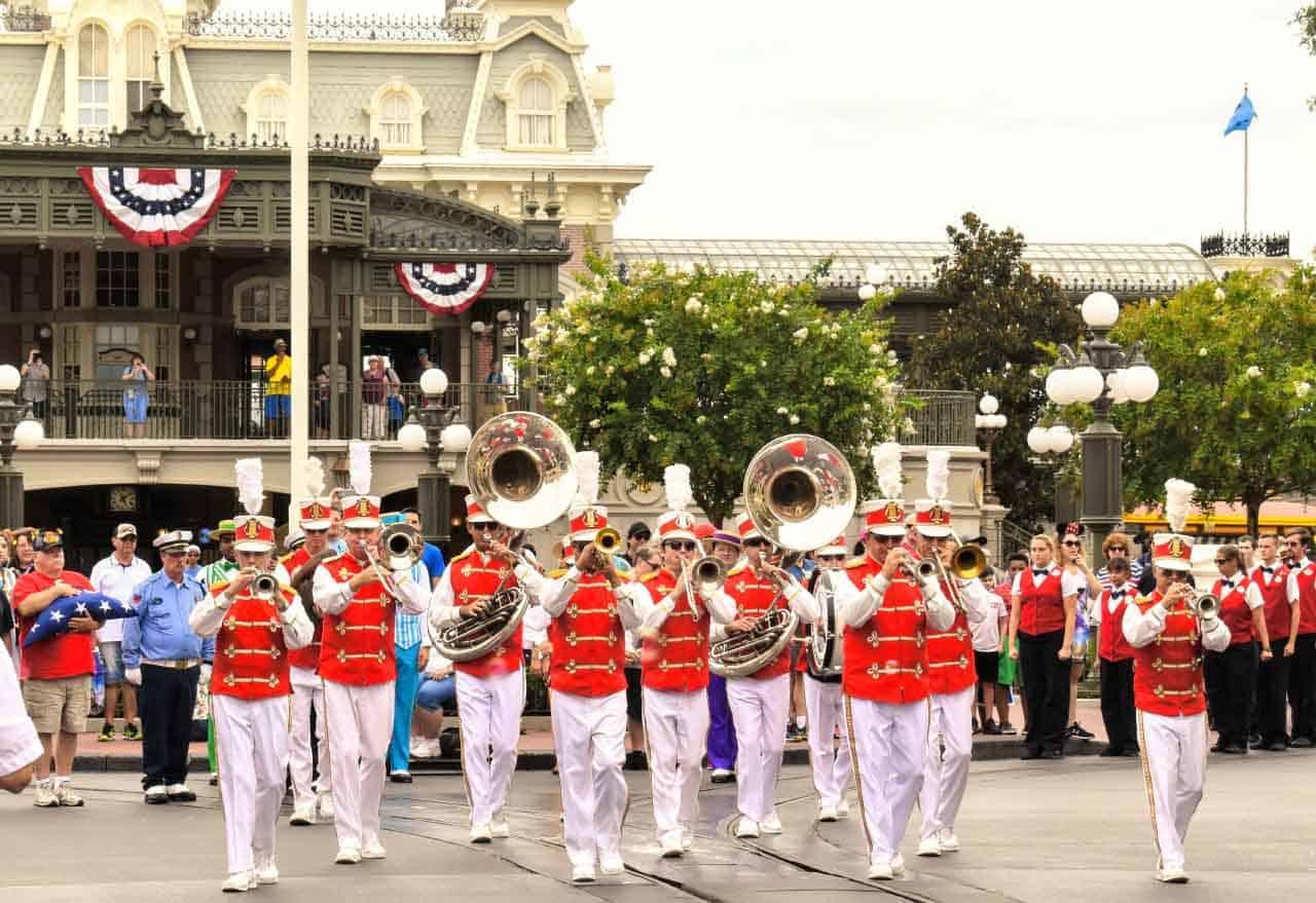 Main Street Philharmonic at Main Street, U.S.A.