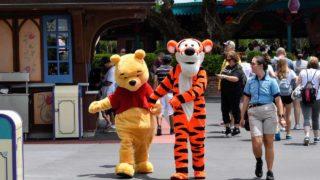 Meet Winnie the Pooh and Tigger at The Thotful Spot