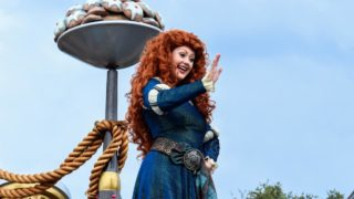 Meet Merida at Fairytale Garden