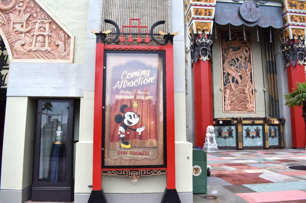 Mickey and Minnie's Runaway Railway at Disney's Hollywood Studios