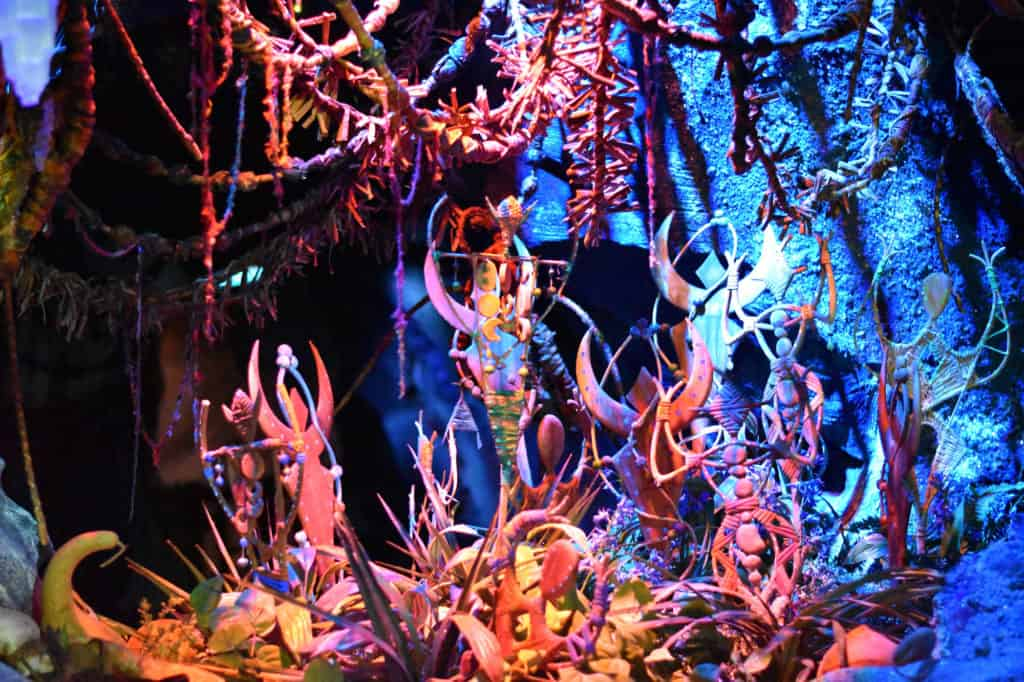 Na'vi River Journey scenery at Disney's Animal Kingdom