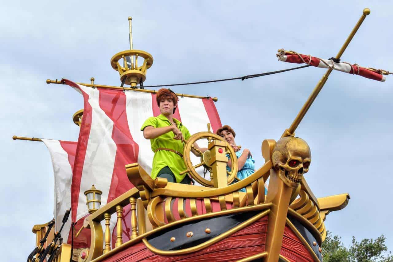 Meet Peter Pan in Fantasyland