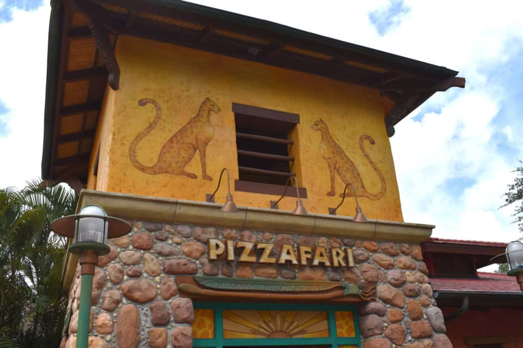 Pizzafari restaurant at Disney's Animal Kingdom