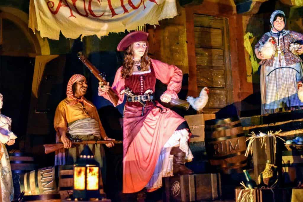 Redd aka the Redhead animatronic on Pirates of the Caribbean.