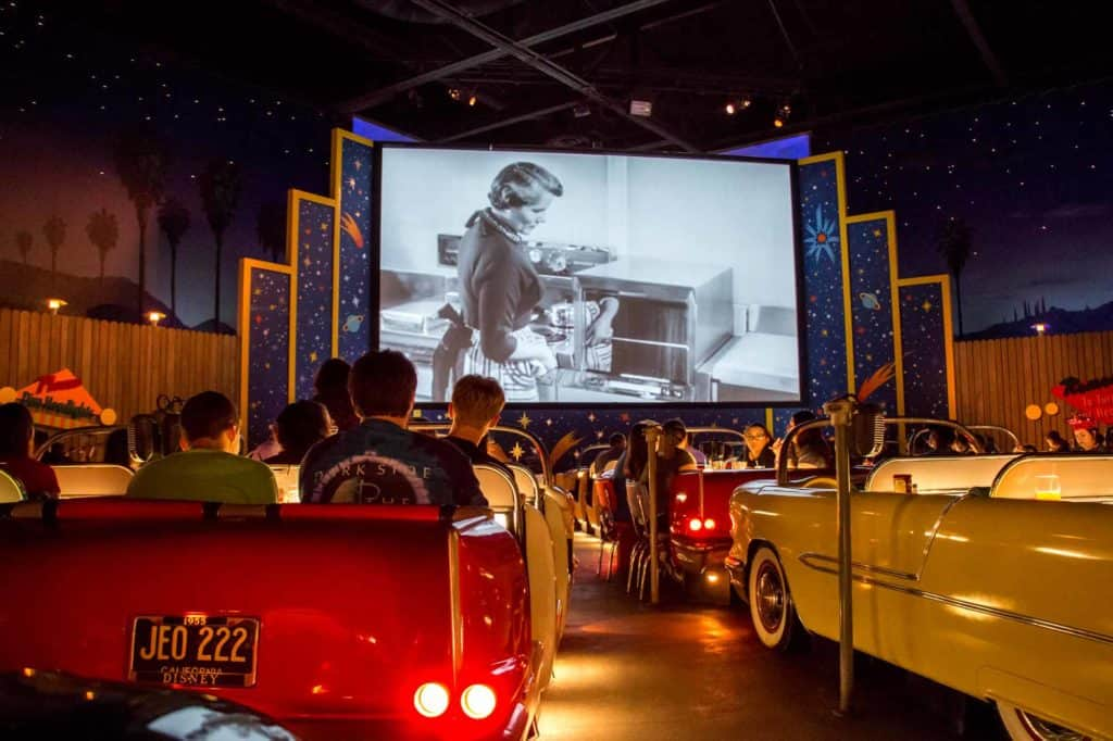 Sci-Fi Dine In Theater Restaurant at Disney's Hollywood Studios