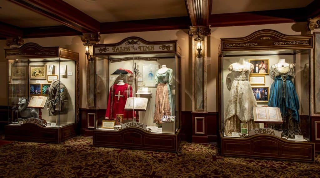 """New for 2020: """"Tales as Old as Time: French Storytelling on Stage and Screen"""" along with """"Beauty and the Beast Sing-Along"""" at the Palais du Cinéma in the France pavilion at Epcot"""