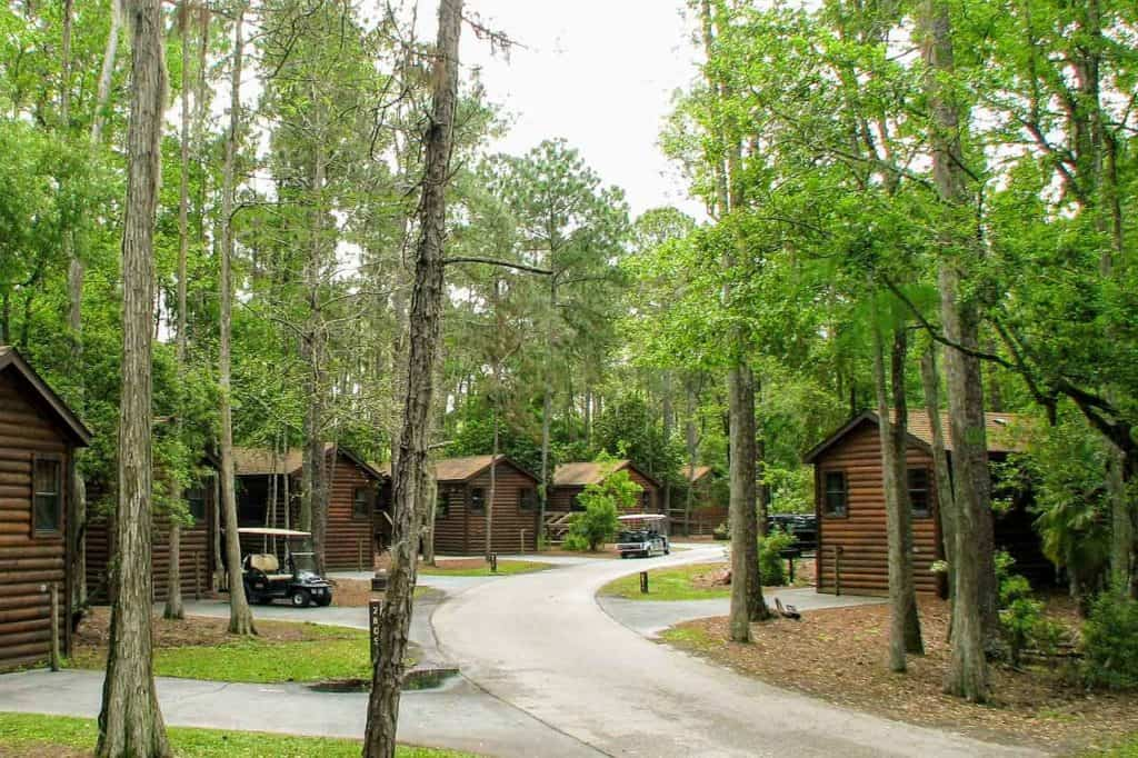 The Cabins at Fort Wilderness.