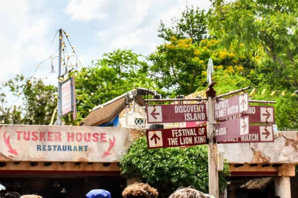 Tusker House Restaurant at Disney's Animal Kingdom.