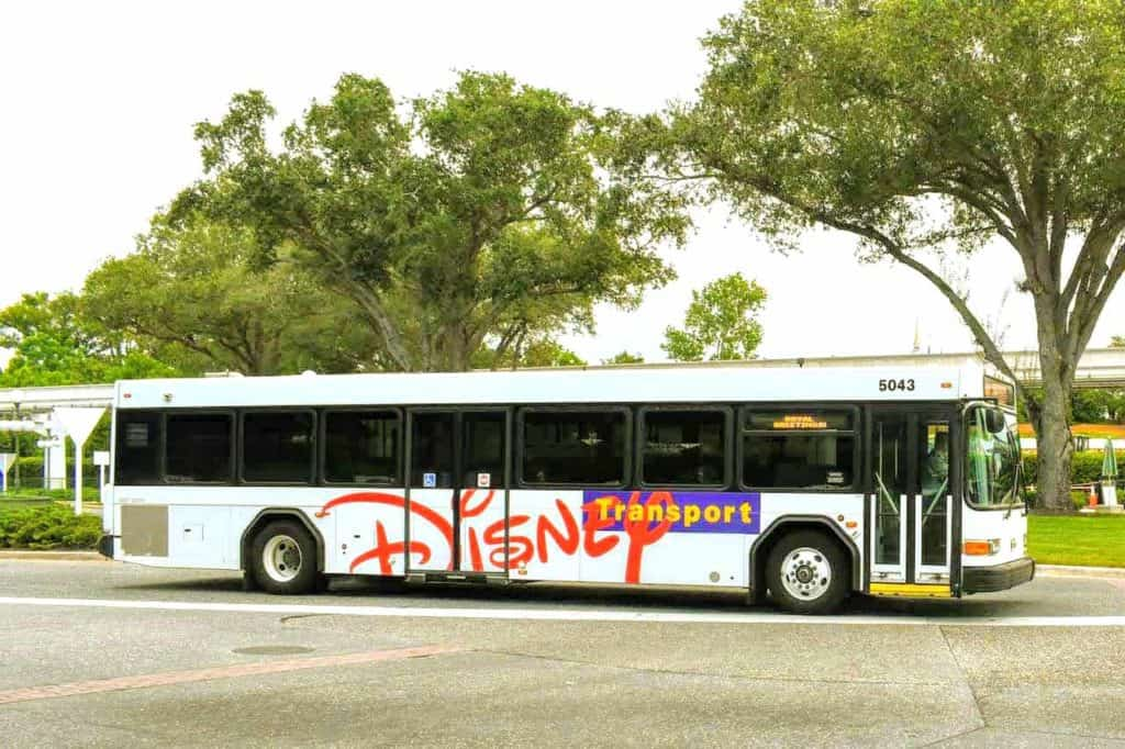 Walt Disney World Bus Service.