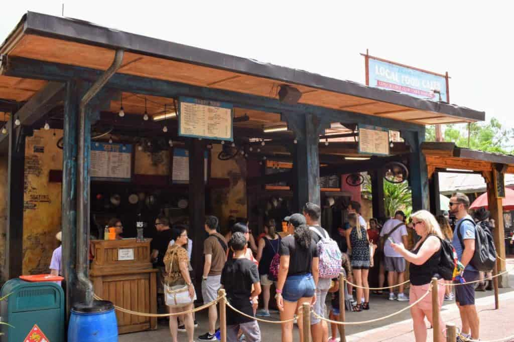 Yak and Yeti Local Foods Cafe at Disney's Animal Kingdom.