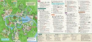 Disney's Animal Kingdom® Map
