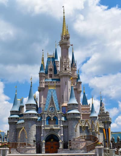 Cinderella's Castle at Magic Kingdom.