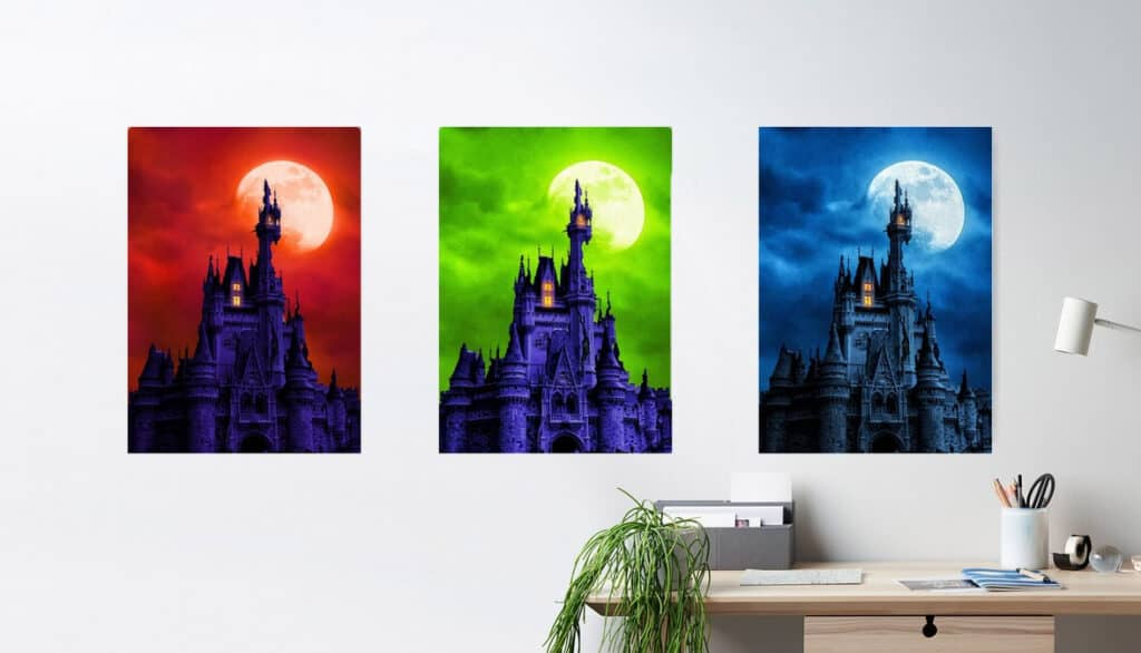 We've made several color combinations available for purchase on Redbubble.