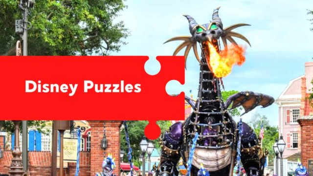 Disney Puzzles for All Ages