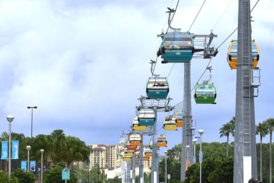 One Month into Service, Disney Skyliner Has Transported 1 Million Guests