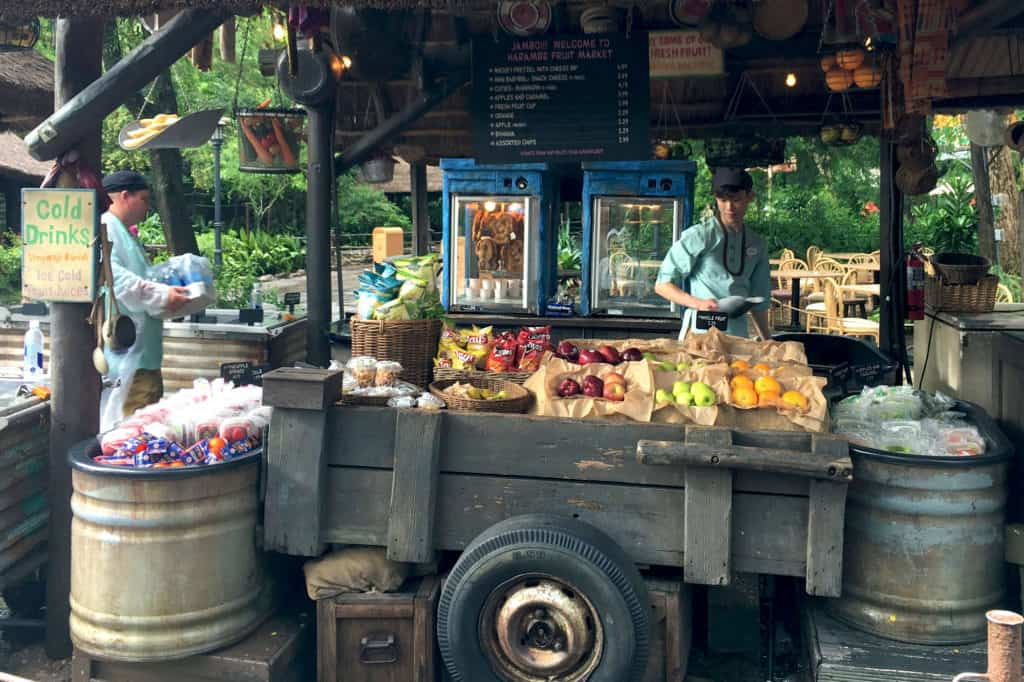 harambe fruit market snacks at Disney's Animal Kingdom