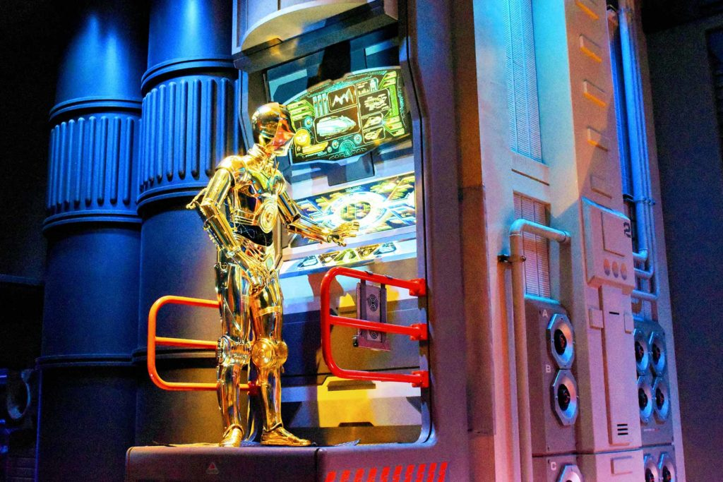 C-3PO in Star Tours - Hollywood Studios