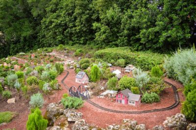 Germany Pavilion Miniature Train Set