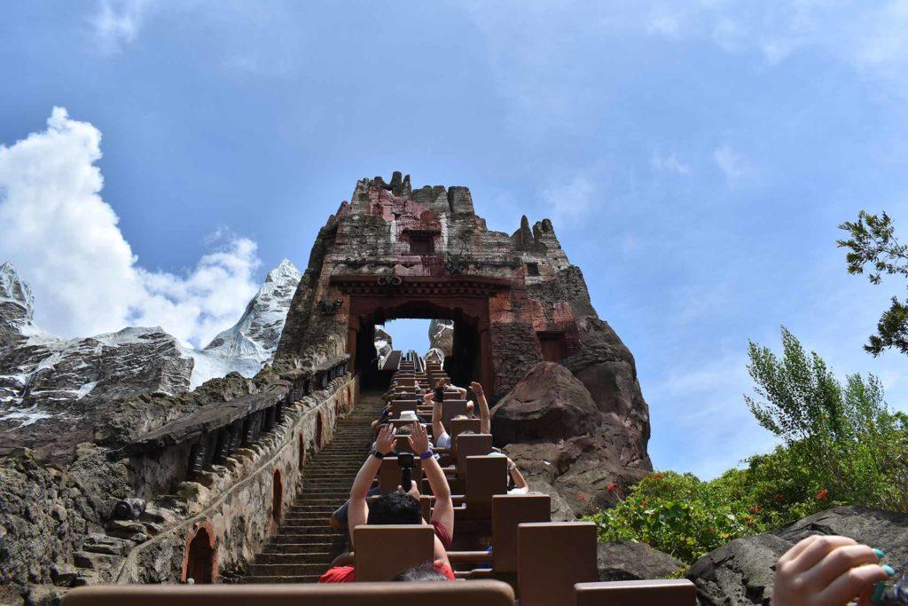 Expedition Everest Roller Coaster - Animal Kingdom