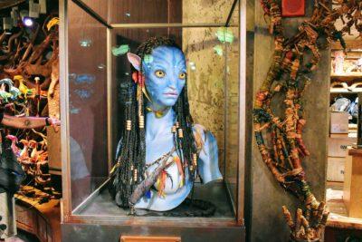 Life Size Avatar Neytiri Bust in Pandora