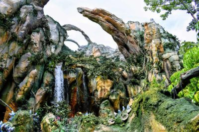 Pandora Waterfall World of Avatar