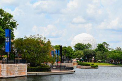Spaceship Earth World Showcase Lagoon
