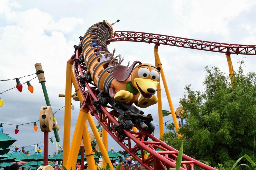 Toy Story Slinky Dog Dash Roller Coaster - Hollywood Studios