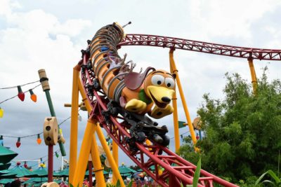 Toy Story Slinky Dog Dash Roller Coaster