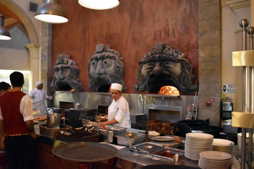 Via Napoli Restaurant Wood Pizza Ovens - EPCOT